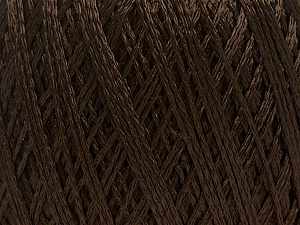 Fiber Content 60% Polyamide, 40% Viscose, Brand ICE, Dark Brown, Yarn Thickness 2 Fine  Sport, Baby, fnt2-48396