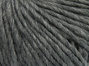 Fiber Content 50% Merino Wool, 25% Acrylic, 25% Alpaca, Brand Ice Yarns, Grey, Yarn Thickness 5 Bulky  Chunky, Craft, Rug, fnt2-48696