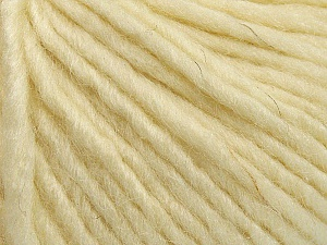 Fiber Content 50% Merino Wool, 25% Acrylic, 25% Alpaca, Brand Ice Yarns, Cream, Yarn Thickness 5 Bulky  Chunky, Craft, Rug, fnt2-48703