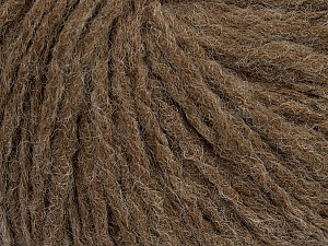 Fiber Content 60% Acrylic, 40% Wool, Brand ICE, Fox Brown, Yarn Thickness 4 Medium  Worsted, Afghan, Aran, fnt2-48787