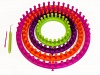 Round Knitting Looms Set - 4 Sizes