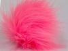 Pink 2 Faux Fur PomPoms