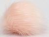 Powder Pink 2 Faux Fur PomPoms