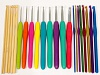 22 Sizes Bamboo - Soft Grip - Color Hook Set