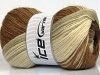 Mohair Magic Glitz Cream Brown Shades