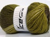 Mohair Magic Glitz Green Shades Brown Shades
