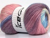 Mohair Magic Glitz White Pink Lilac Blue