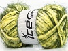Techno Chenille Yellow Green