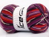 Super Sock White Red Purple Orange Lilac Black