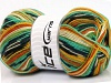 Super Sock Yellow White Orange Green Shades Black
