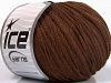 Ribbon Wool Brown