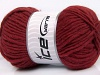 Felting Wool Burgundy