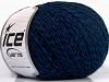 Wool Fine 30 Mavi Siyah