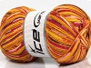 Bamboo Sock Yellow Pink Orange Gold