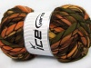 Tibet Superbulky Orange Green Gold Brown Shades