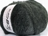 Huge Mohair Grey Shades Black