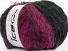 Huge Mohair Pink Shades Black
