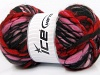 Tibet Superbulky Red Pink Black