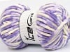 Chenille Baby Colors Lilac Shades Cream