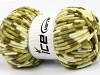 Chenille Baby Colors Green Shades Cream