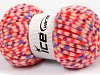 Chenille Baby Colors Purple Pink Orange Lilac Dark Cream