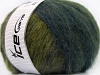 Huge Mohair Purple Navy Green Shades