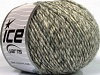 Wool Cord Aran Grey Cream
