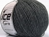 Wool Cord Light Grey Melange