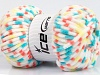 Chenille Baby Colors Yellow White Turquoise Salmon