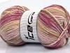 Wool Sport Print Pink Orchid Khaki