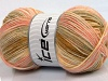 Wool Sport Print Yellow Pink Olive Green