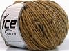 Wool Cord Aran Açık Kahve Mavi Tonları