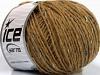 Wool Cord Aran Light Brown Blue Shades