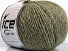 Wool Cord Light Khaki Grey Shades