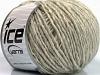 Wool Cord Aran Light Grey Beige