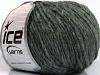 Wool Cord Bulky Grey Melange