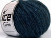 Wool Cord Bulky Dark Jeans Blue