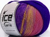 Air Wool Color Purple Pink Gold