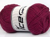 Natural Cotton Dark Fuchsia