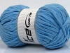 Sale Chenille Baby Blue