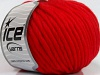 Pure Wool Chunky Kırmızı