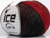 Soft Chain Wool Red Black