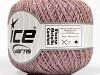 Viscose Metallic Comfort Powder Pink