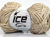 Viscose Ribbon Shine Cream Beige