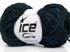 Viscose Shine Bulky Blue Black
