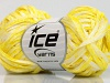 Viscose Shine Bulky Yellow White