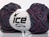 Viscose Shine Bulky Maroon Dark Navy