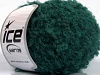 Boucle Mohair Worsted Emerald Green
