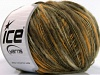 Flamme Wool Light Yellow Khaki Cream