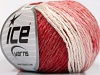 Soft Chain Wool White Red